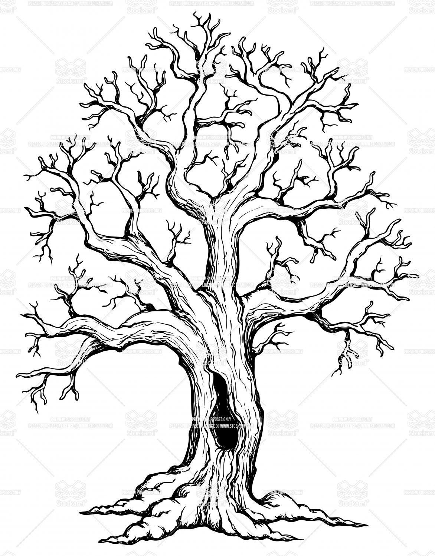 Tree Theme Drawing 1