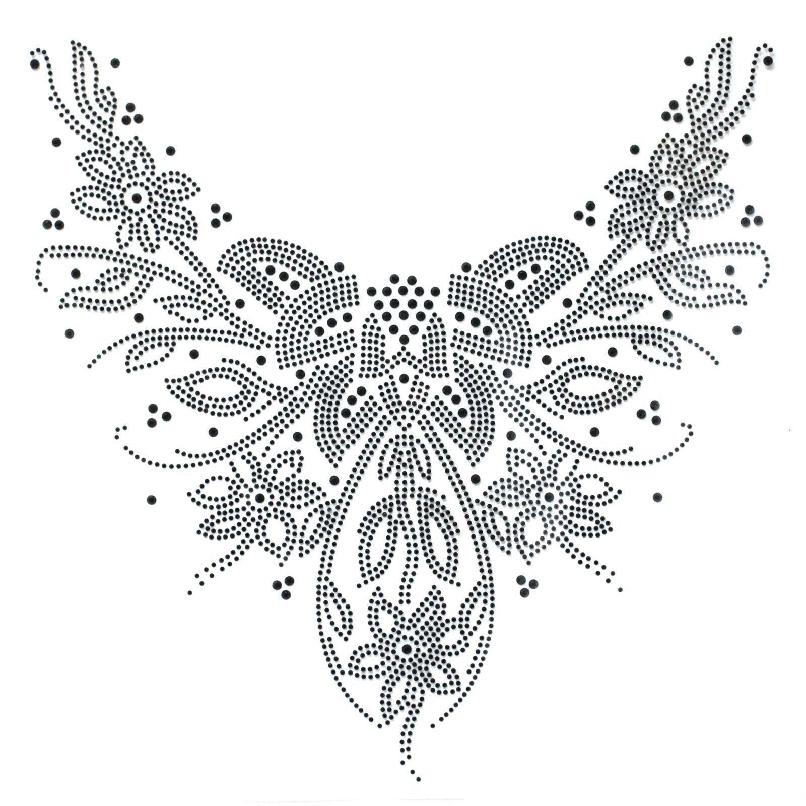 Rhinestone Hot fix Motif crystal Fashion Design Dress