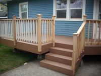 pictures of handrail for deck stairs | ... XLM Desert ...