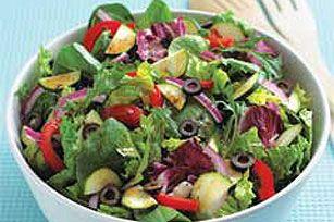 Italian Garden Salad Recipe Salads Pinterest Gardens Olives