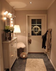 Simple hallway is looking neat and clean white shoe rack making area bigger narrow decoratinghallway ideas also best images about hall on pinterest technology radiators rh