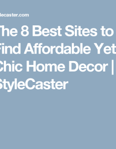 The best sites to find affordable yet chic home decor stylecaster also rh pinterest