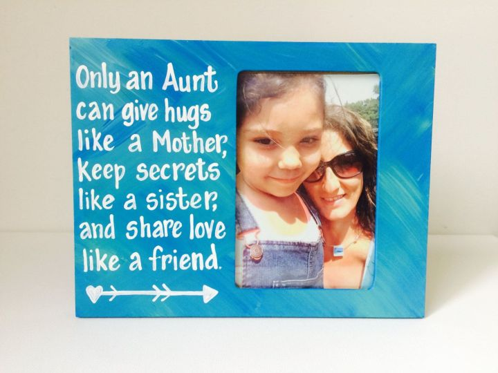 Hand Painted Custom Picture Frames With Quotes | secondtofirst.com