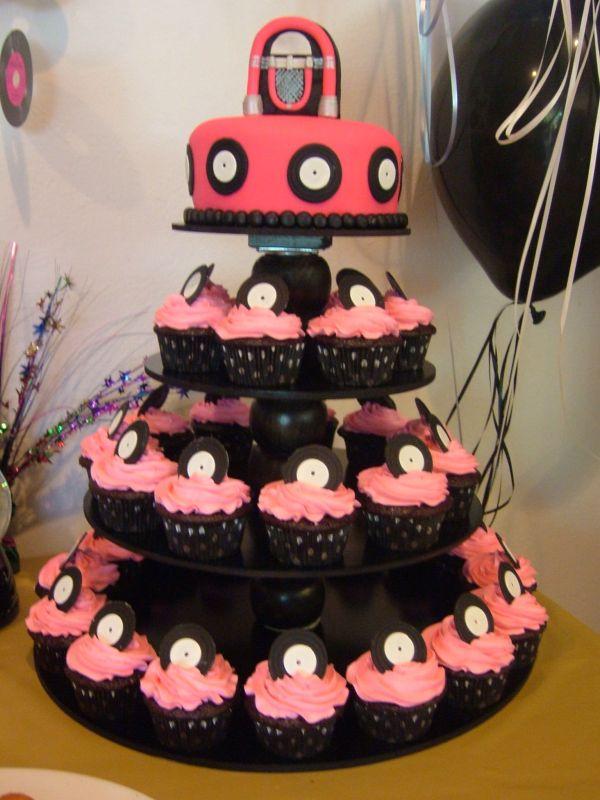 50 S Theme Birthday Cake Ideas