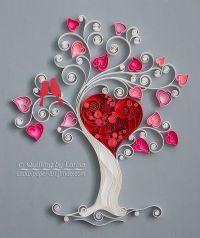 quilling, quilling art, paper, paper art, design. wall art ...