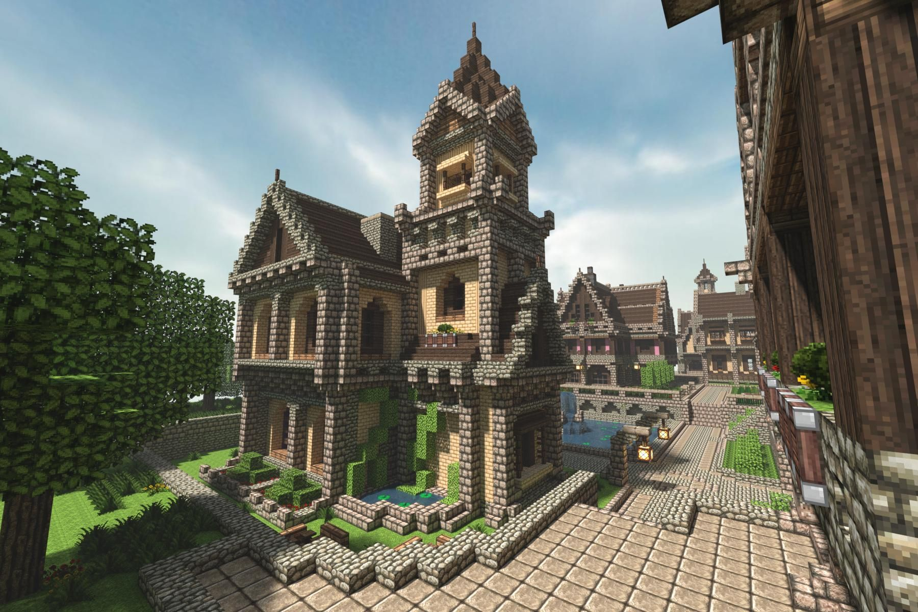 Cool House Ideas Modern Building Minecraft Seeds PC Build This