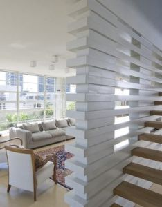 Rooftop apartment by amitzi architects architecture interior designs also modern staircase staircases rh pinterest