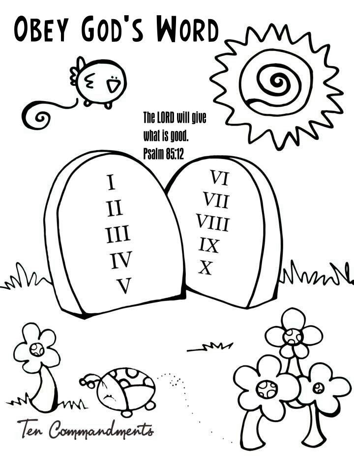 Obey Parents Coloring Pages http://prairiekids.org/color
