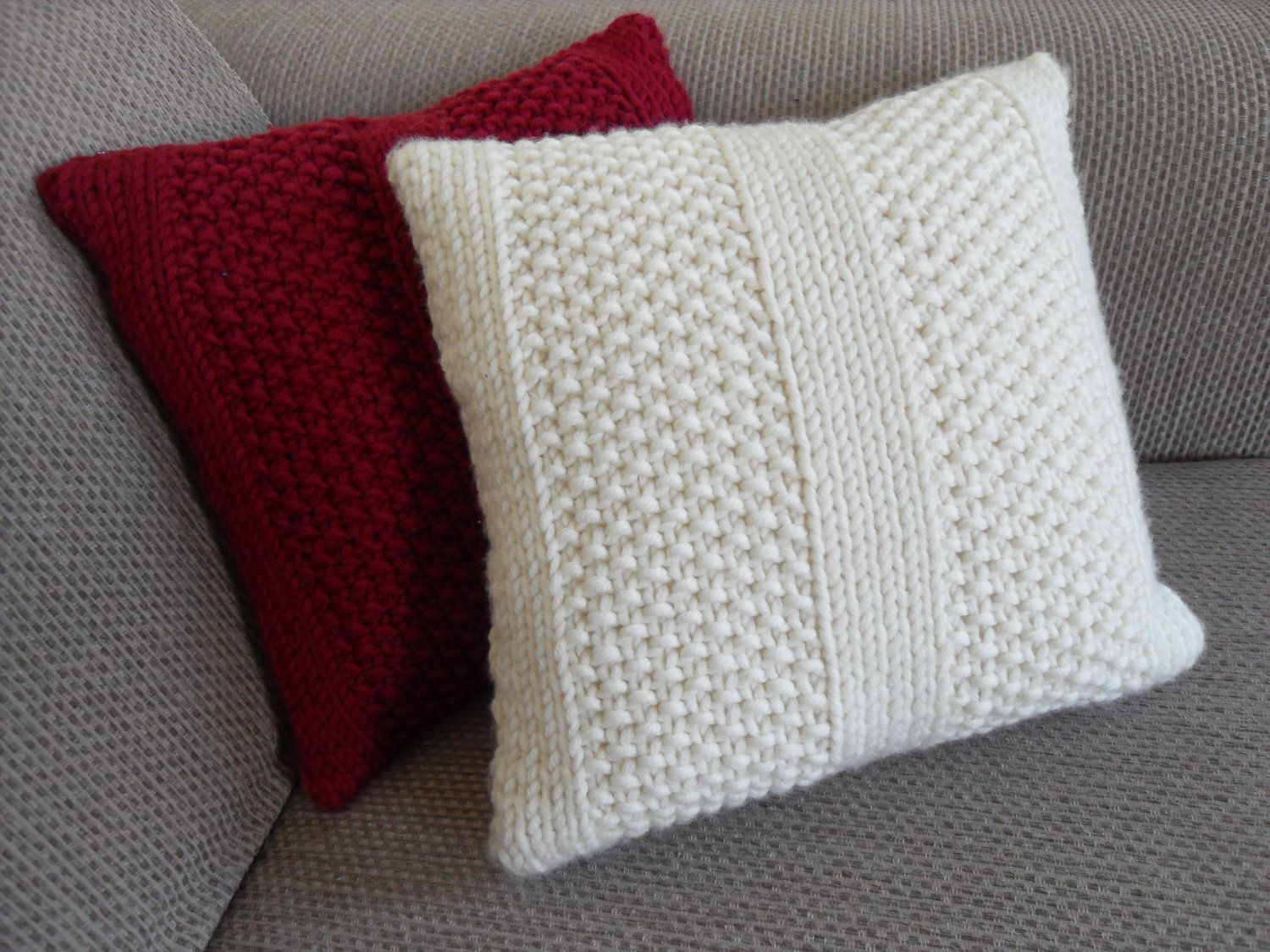 Knitting Pillow Patterns for Beginners  Knitting Cushions