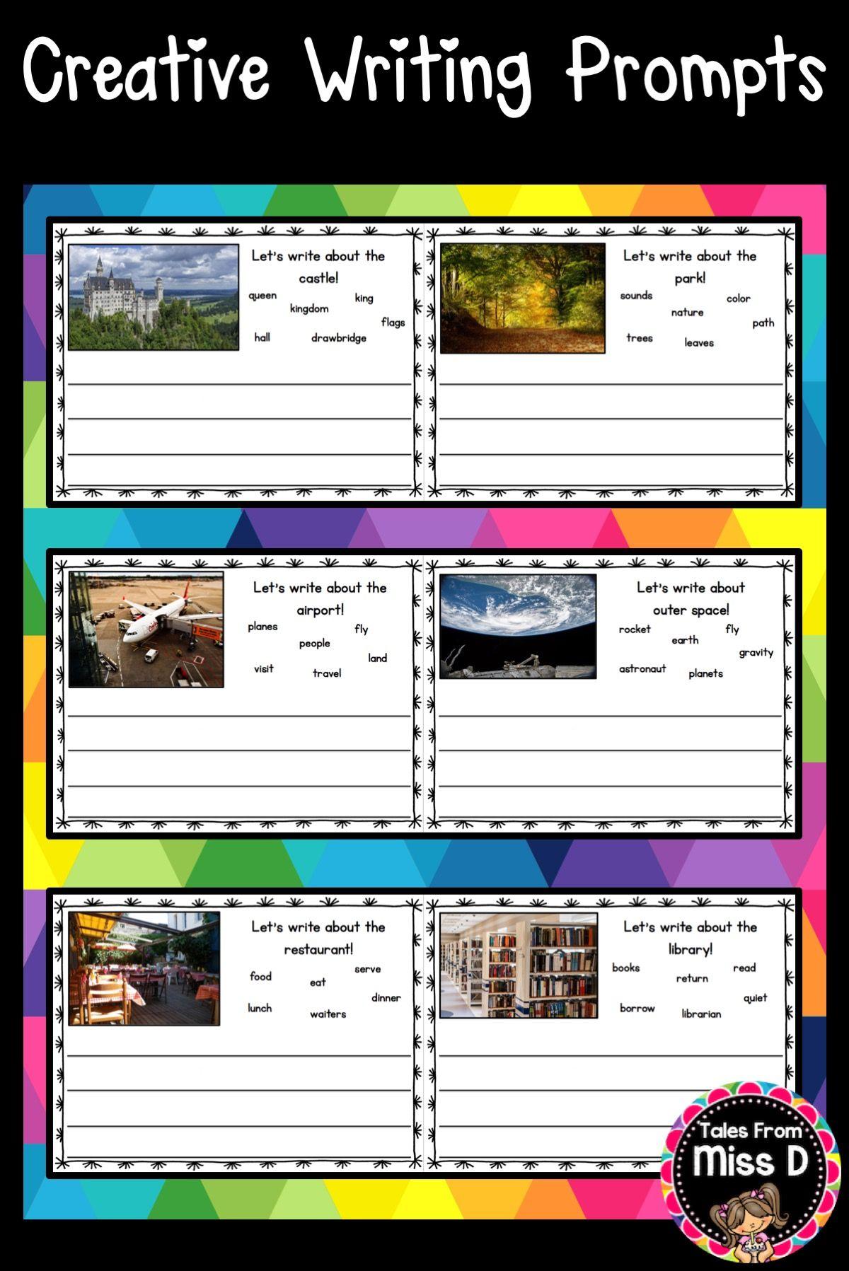 Creative Writing Worksheet Year 2