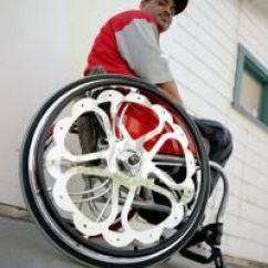 Folding Chair With Wheels Gym Total Body Workout 3-level Resistance Tricked Out Wheelchair | Pimped Best And Sports Assistive Technology ...