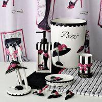 Paris Themed Bathroom Set | Bathroom Ideas Paris Themed ...