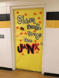 Red Ribbon Week Door Decorating Inspiration