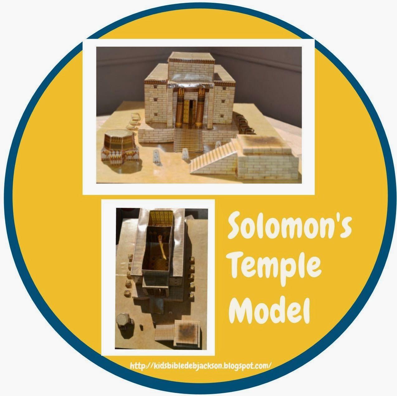 Solomon Rebuilds The Temple