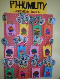 Birthday Chart | Classroom Ideas | Pinterest | Birthday ...