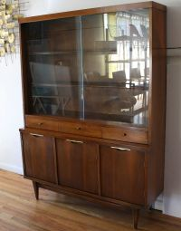 Mid century modern china cabinet hutch from Kent Coffey's ...