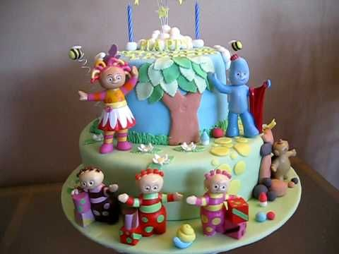In The Night Garden Cake For Lachlan YouTube Birthday Cake