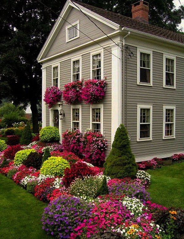 Curb Appeal 20 Modest Yet Gorgeous Front Yards Front Yards