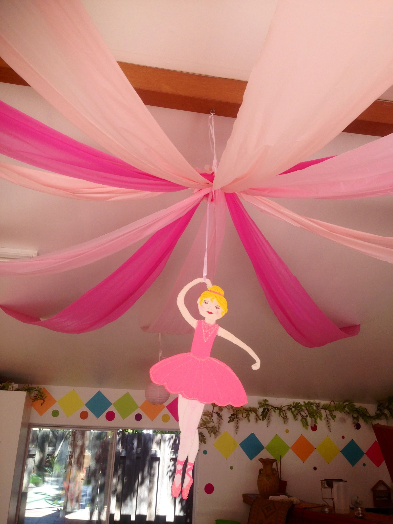 Birthday Ceiling Decoration Ideas Elitflat
