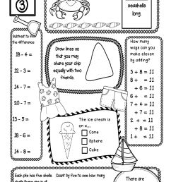 8th Grade Summer Worksheets   Printable Worksheets and Activities for  Teachers [ 2431 x 1624 Pixel ]