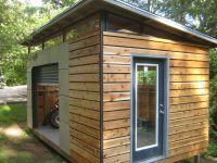 DIY Modern Shed project | Modern, Backyard and Gardens
