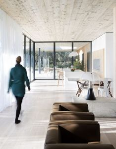 Architecture also maison is  modernist family villa in the south of france rh pinterest