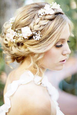 Brides Of Adelaide Magazine Secret Garden Wedding Hair