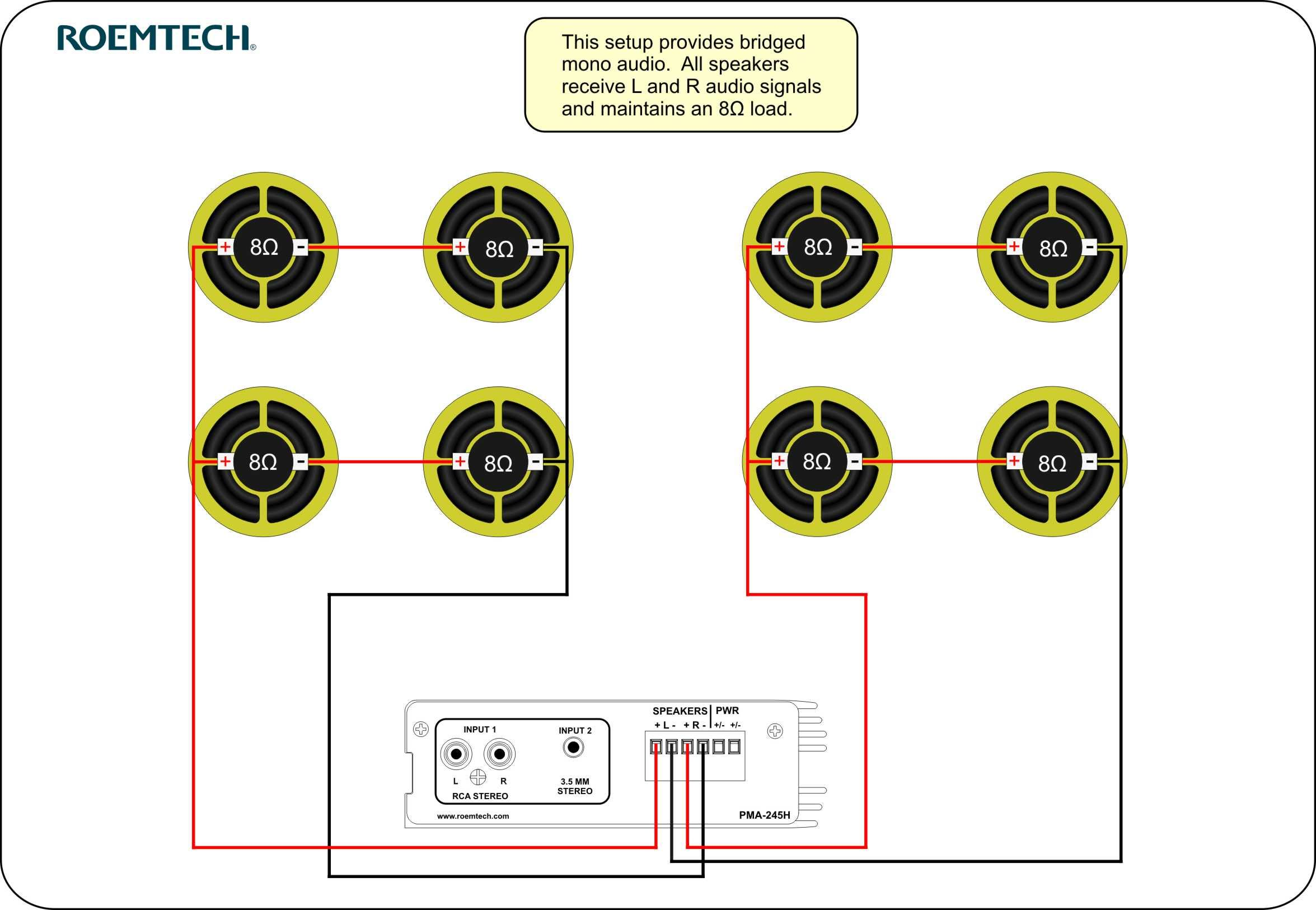 wiring diagram for surround sound system defy fridge thermostat classroom audio systems multiple speaker