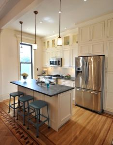 Pictures of small galley kitchens design remodel decor and ideas page also rh pinterest