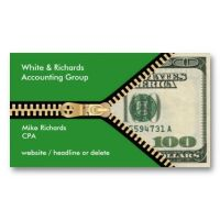 Accounting, Financing, $100 Bill, Accountant Business Card ...