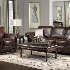 Decorate With Brown Leather Sofa Linen Corner Nz Dream House Decor Ideas For Furniture Gngkxz