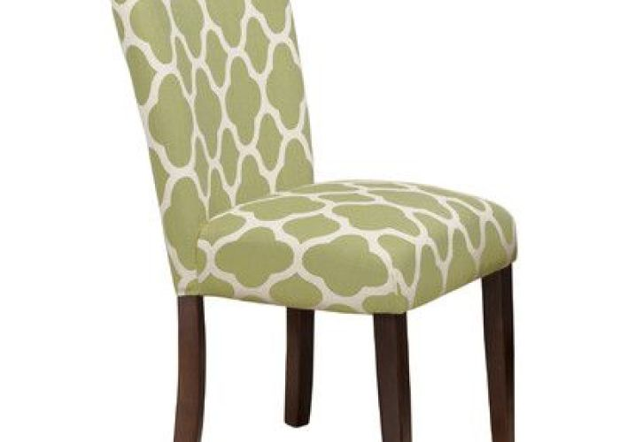 Add  pop of pattern to your dining room or kitchen ensemble with this eye catching side chair showcasing trellis print and parsons design also gia  reviews joss main home help pinterest