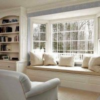 Bay Window Seat. Elegant Bay Window Kitchen Nook Kitchen ...