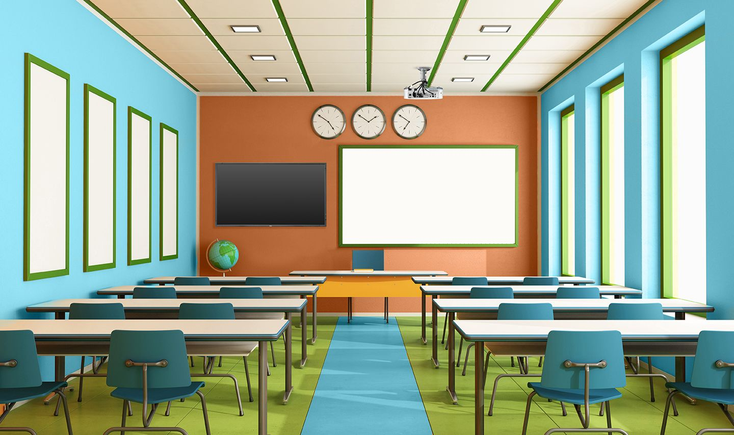 Best Wall Color For Learning