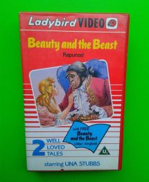Beauty and the Beast Book VHS