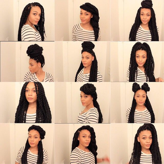 Havana Marley Twists Hairstyles Natural Hair Protective Style