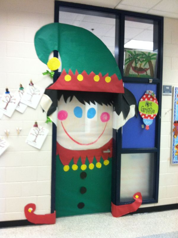 20 Elves Classroom Doors Pictures And Ideas On Weric
