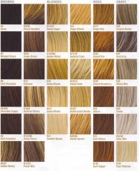 Clairol Nice N Easy Hair Color Chart - Hair color charts ...