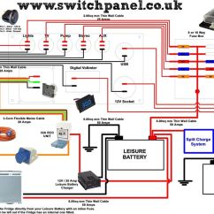 Rv Converter Wiring Diagram Scully Thermistor 12v 240v Camper Vw Pinterest