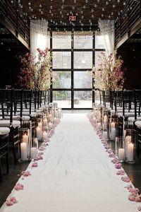 20 Awesome Indoor Wedding Ceremony Dcoration Ideas ...