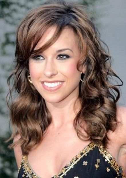 Lacey Chabert Side Swept Long Hair Style Hair Beauty