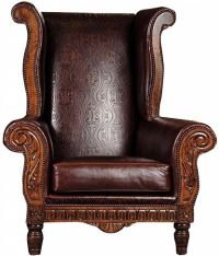 Leather Chesterfield Style Sofa Chesterfield Leather ...