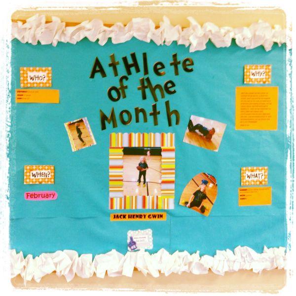 Pe Cute Physical Education Bulletin
