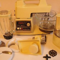 Kitchen Aid Mixer Attachments Mixing Bowl 1970's Vintage Oster Regency Center Grinder ...