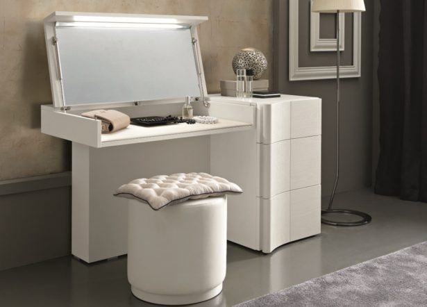 Furniture Modern Dressing Table With Drawer White A Modern