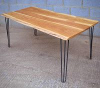 Outstanding Hairpin Leg Dining Table To Enhance The ...