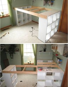 Nice awesome creative ideas diy customized craft desk icreativeideas also rh ar pinterest