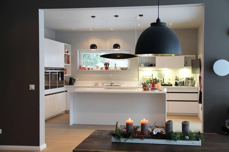 Offene Kche mit SieMatic Mlln  Kchen und Parkettwelt  Traumhaus  Pinterest