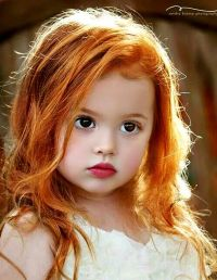 Lovely child I Love The Color of Her RED HAIR. | K ...