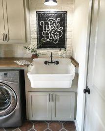 Joanna Gaines Farmhouse Laundry Room Ideas